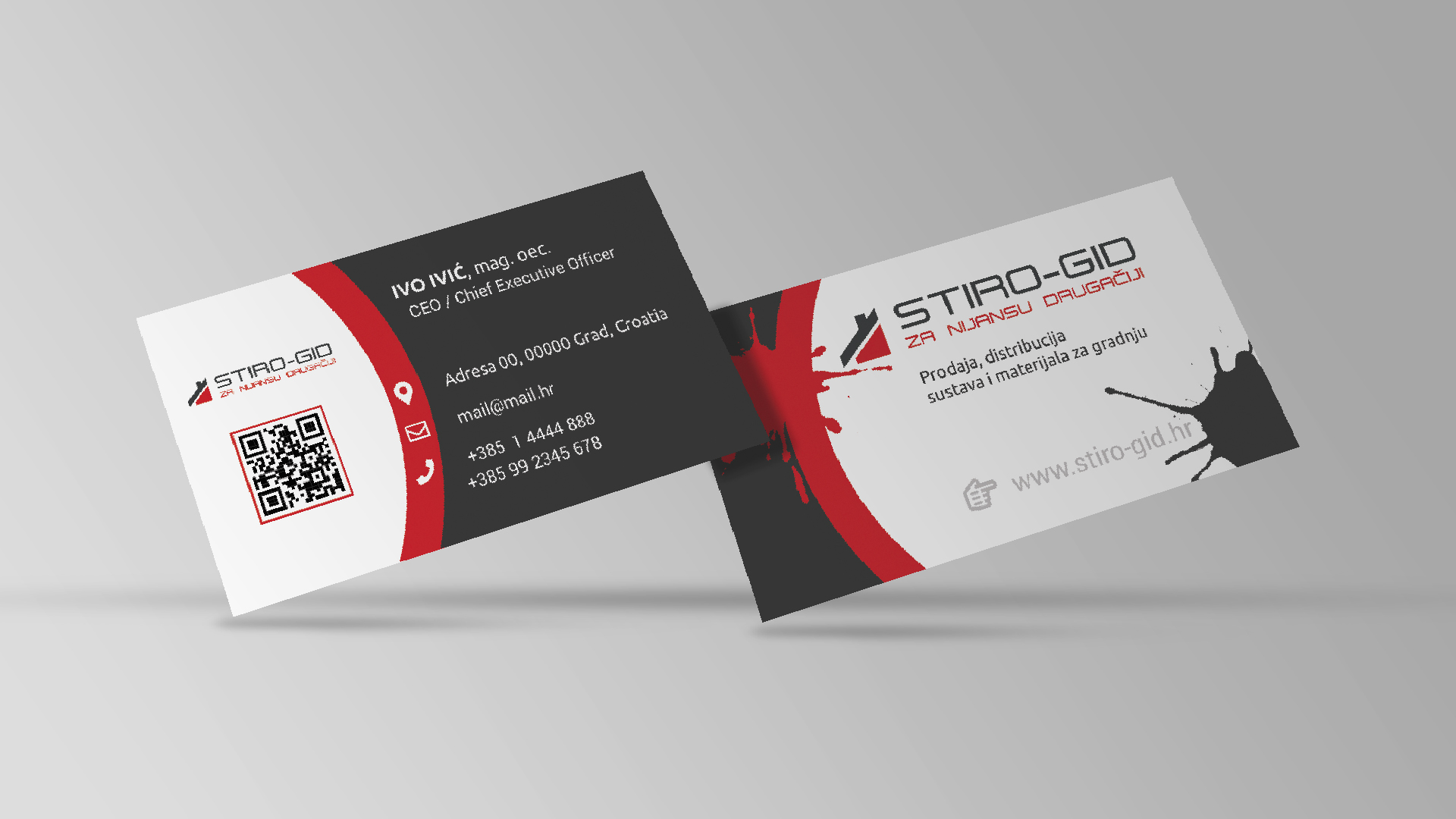 stiro-gid business cards
